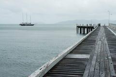 jetty drewniany Obraz Royalty Free