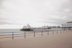 Jetty in Eastbourne, United Kingdom Royalty Free Stock Image