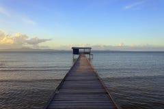 Jetty i morze Obraz Stock