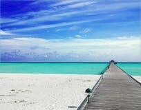 Free Jetty In The Maldives Stock Photo - 8759250