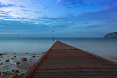 Jetty at Irish Sea, Llandudno, North Wales Royalty Free Stock Photos