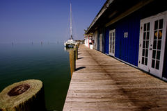 Jetty key west Royalty Free Stock Photos