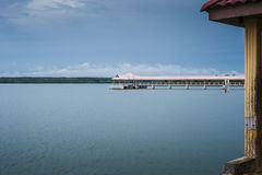 Jetty at Kuala Bernas Royalty Free Stock Images