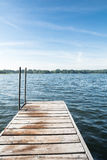 Jetty on a Lake Royalty Free Stock Photography