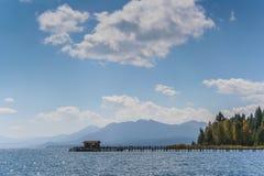 Jetty at lake Tahoe Royalty Free Stock Image