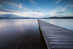 Jetty on Loch Lomond Stock Photography