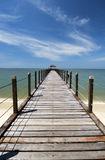 Jetty, Malaysia Stock Photo