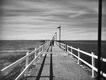 Jetty. At manly brisbane Royalty Free Stock Photo