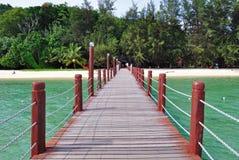 Jetty at Manukan Island, Kota Kinabalu Sabah Royalty Free Stock Images