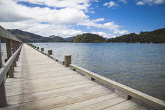 Jetty in the Marlborough Sounds Stock Photos