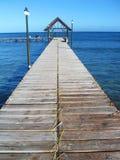 jetty Mauritius drewniany Zdjęcia Stock