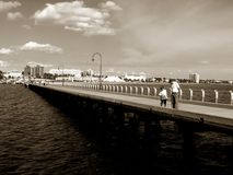 Jetty, Melbourne Royalty Free Stock Image