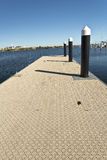 Jetty with a Modern Floor Cover Stock Photos