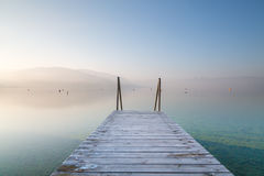 Jetty in the morning Royalty Free Stock Image