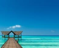 Jetty nad oceanem indyjskim zdjęcie royalty free