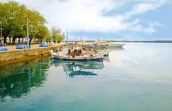 Jetty at Navarinou road Kalamata Greece Stock Images