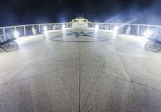 Jetty by night Royalty Free Stock Photography