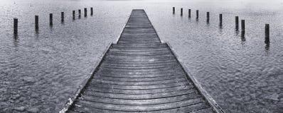 jetty old wooden Στοκ Εικόνα