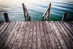 jetty old wooden Στοκ φωτογραφία με δικαίωμα ελεύθερης χρήσης
