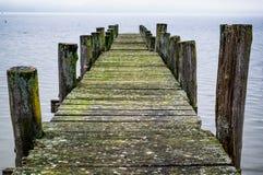jetty old wooden Στοκ Φωτογραφίες
