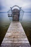 jetty old wooden Στοκ Εικόνες