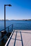 jetty Perth rzeki łabędź Fotografia Stock