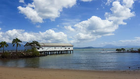 The Jetty. Jetty in Port Douglas Queensland Stock Photos