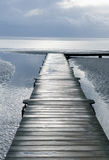 Jetty on sea Royalty Free Stock Images