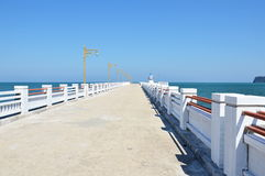 Jetty on the sea Stock Photography