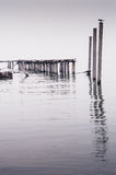 Jetty at the sea Royalty Free Stock Images