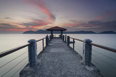 The Jetty Royalty Free Stock Images