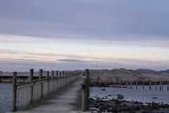 Jetty skalista wyspa Obrazy Royalty Free