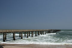 Jetty of Swakopmund Stock Photos