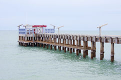 Jetty in Thailand. Royalty Free Stock Photos