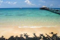 Jetty on Tioman Island, Malaysia Stock Image