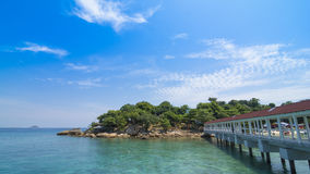 Jetty to Perhentian Island, Malaysia Royalty Free Stock Photography