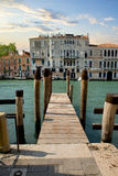Jetty in Venice Royalty Free Stock Image