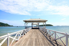 Jetty walkway Royalty Free Stock Images