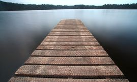 Jetty Walkway Pier Royalty Free Stock Photography