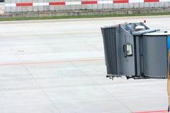 jetway tomt för flygplan Royaltyfri Fotografi