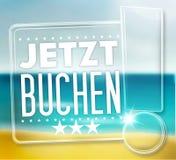 Jetzt Buchen Royalty Free Stock Photo