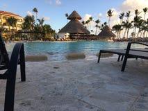 Jetzt Larimar-Erholungsort in Punta Cana dominikanisch lizenzfreies stockbild