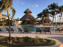 Jetzt Larimar-Erholungsort in Punta Cana dominikanisch stockfotos