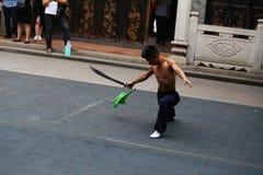 Jetzt Leute kungfu Stockfotografie