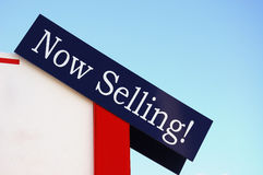 Jetzt verkaufend! Lizenzfreies Stockfoto