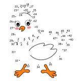 Jeu 149, la poule Photo libre de droits