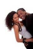 Jeu affectueux de couples Image libre de droits