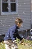 Jeu avec des bulles image libre de droits