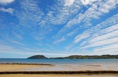Jeu avec des nuages Photographie stock libre de droits