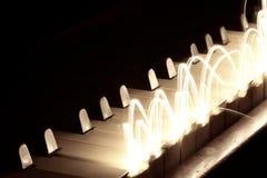Jeu avec la lumière Image stock